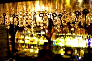 Chandelier, bar