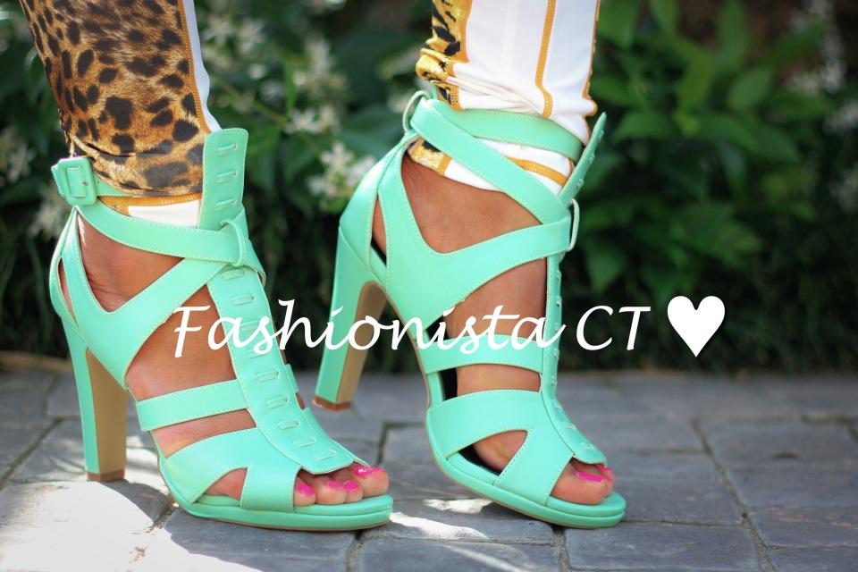 Fashion blogger Lauren Campbell