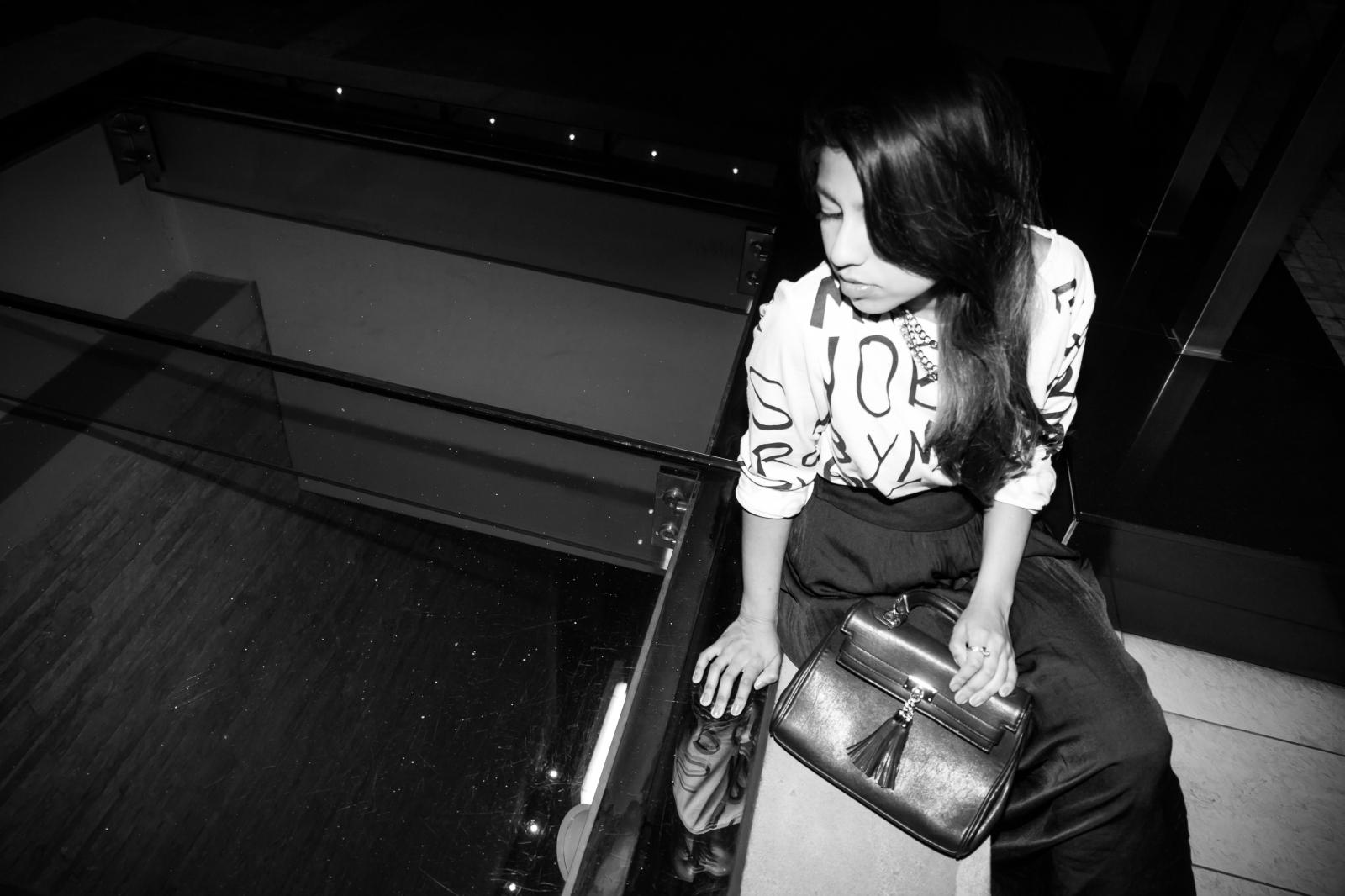 Monochrome, black and white, fall SA Fashion Blogger Lookbook 2013