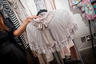 Silk satin bolero, Cape Town fashion