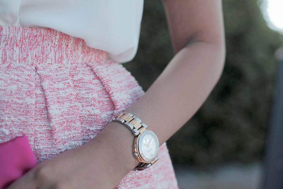 Michel Herbelin Watch, Cape Town fashion blogger Raeesa Naik