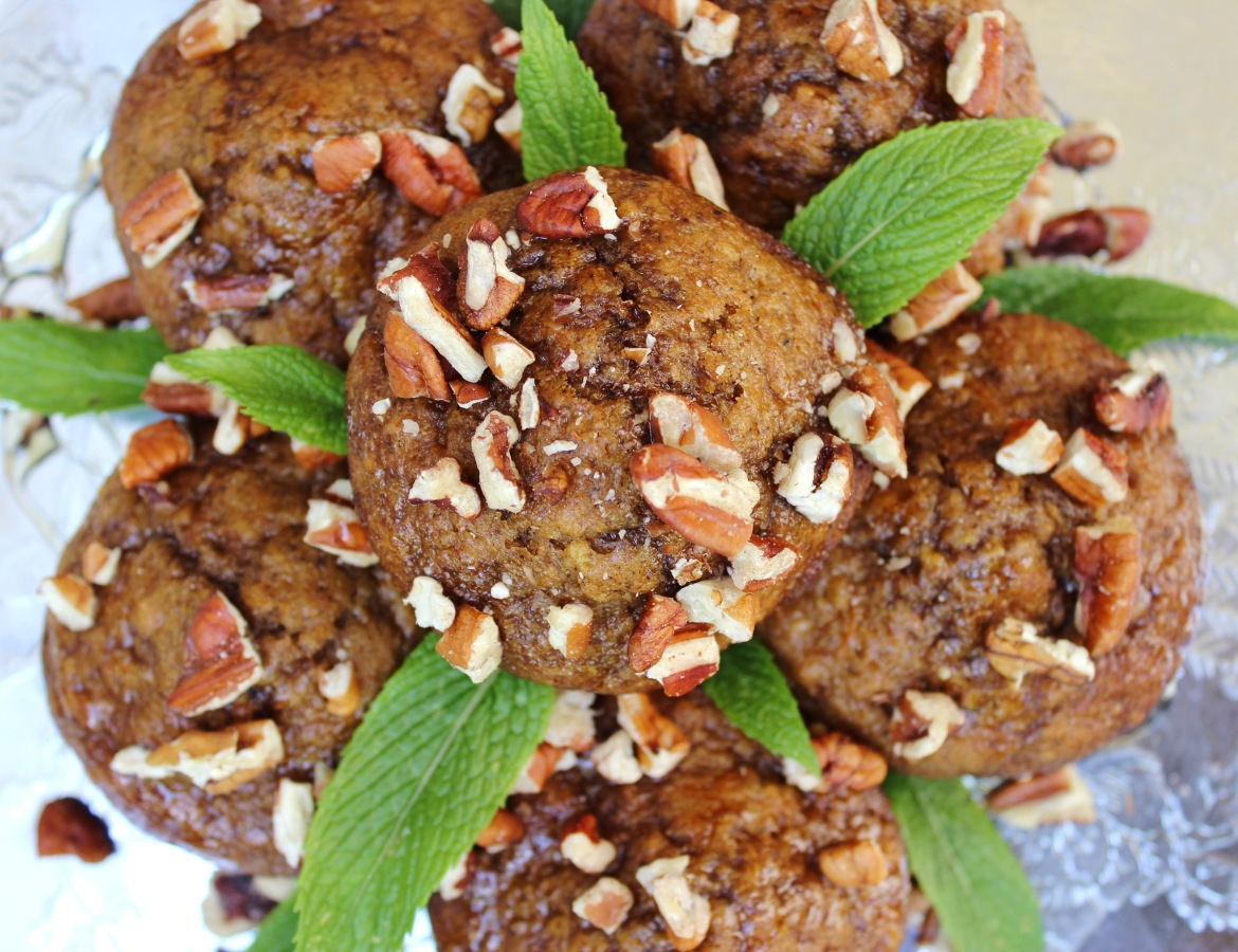 Healthy spiced carrot muffin recipe