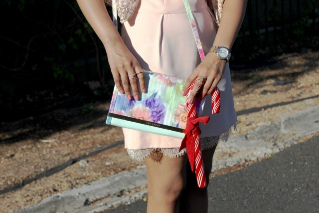 Ted Baker bag Michel Herbehin Watch Details