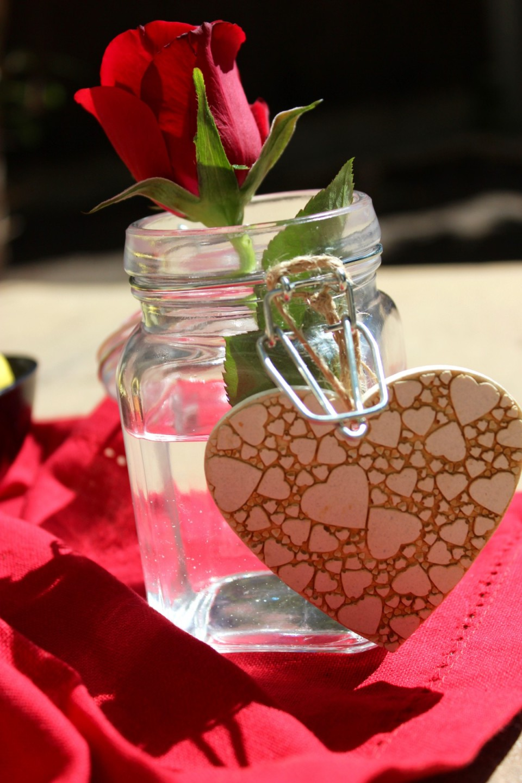 Valentines table setting ideas