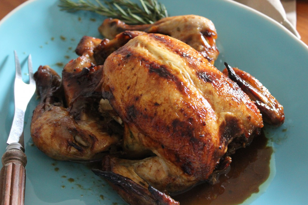 The best roast chicken recipe